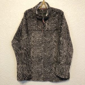 True Grit Men's Frosty Tipped Tribal Cord Pullover